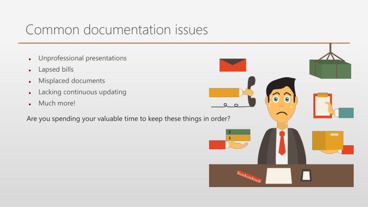 Common documentation issues