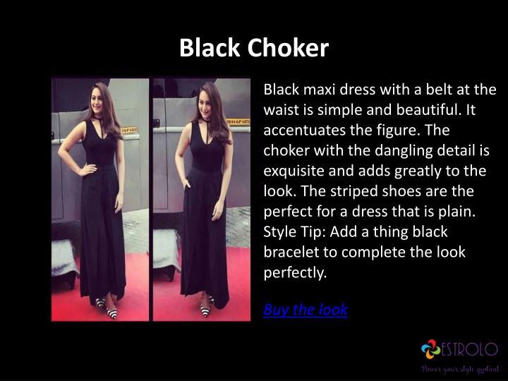 Black Choker