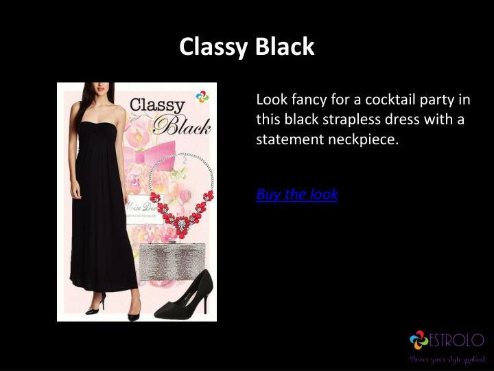 Classy Black