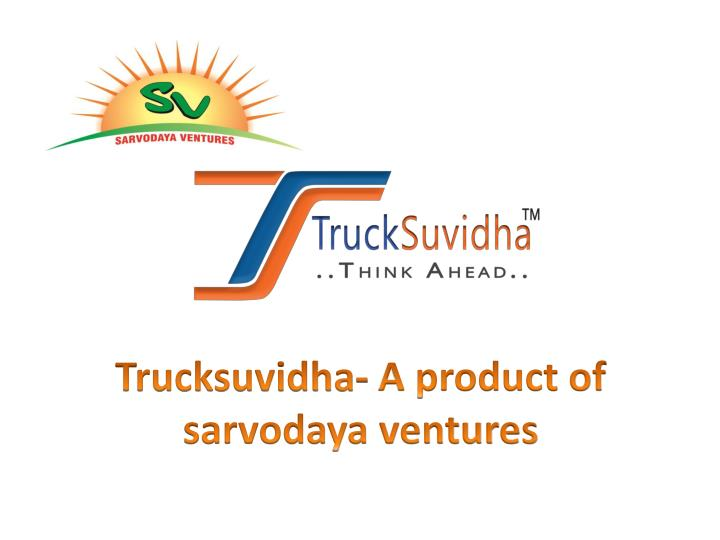 How to get registered with trucksuvidha
