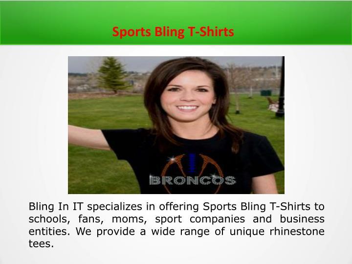 Sports Bling T-Shirts
