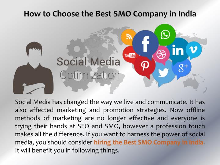 How to Choose the Best SMO Company in