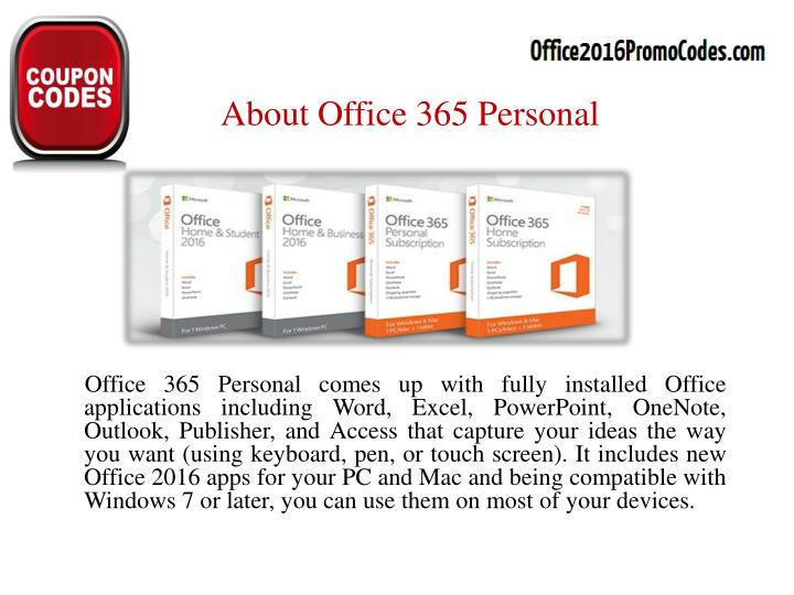 About office 365 personal