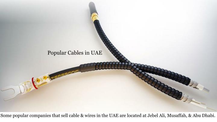 Popular Cables in UAE