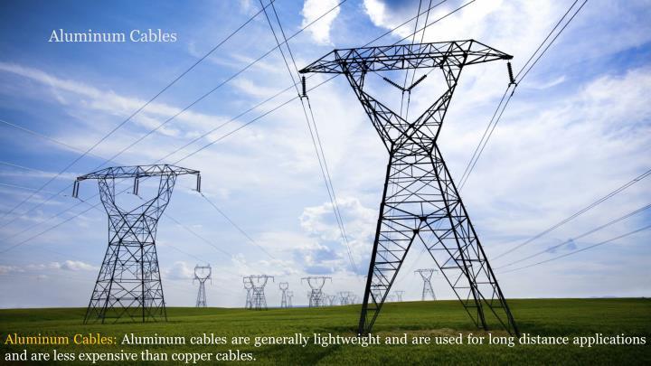 Aluminum Cables