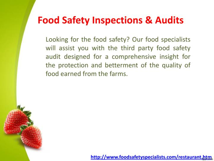 Food Safety Inspections & Audits