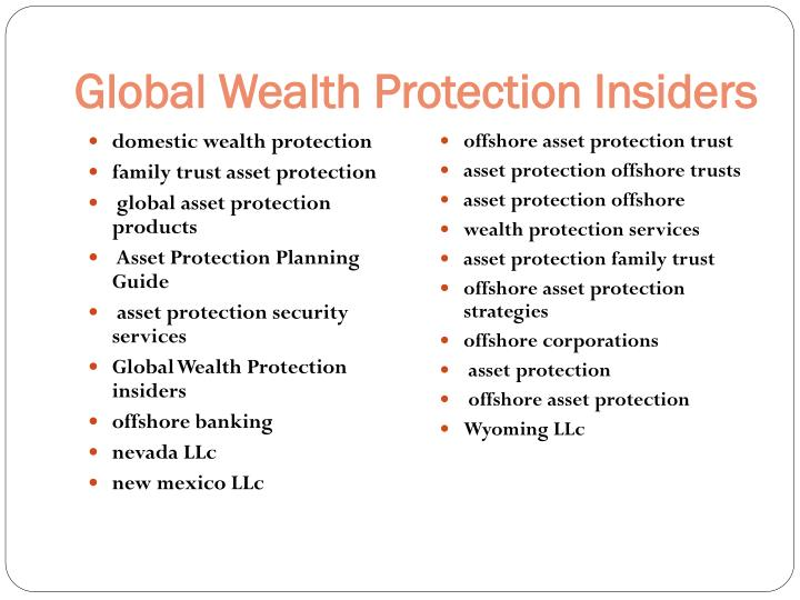 Global Wealth Protection