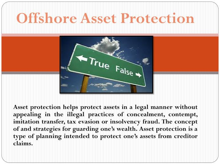 Offshore Asset Protection