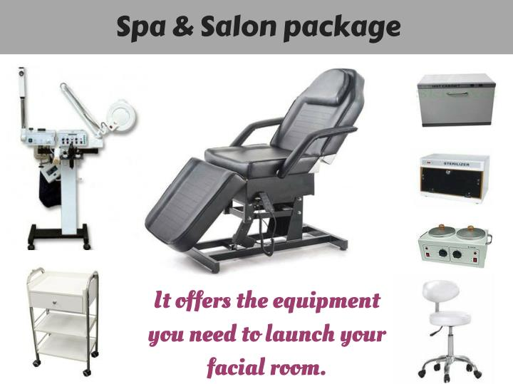 Spa & Salon package