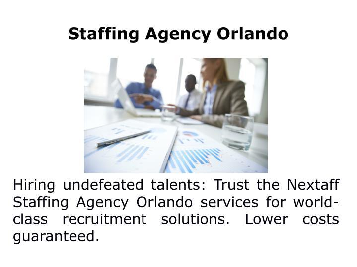 Staffing Agency Orlando