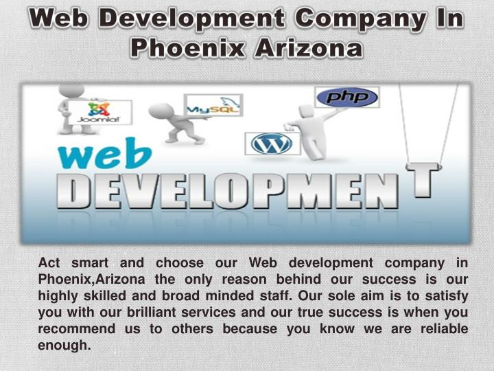 Web Development Company In Phoenix Arizona