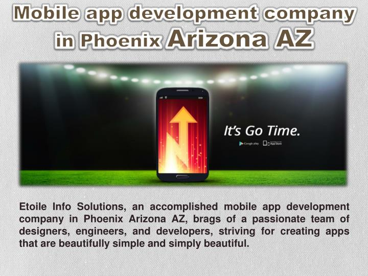 Mobile app development company in Phoenix