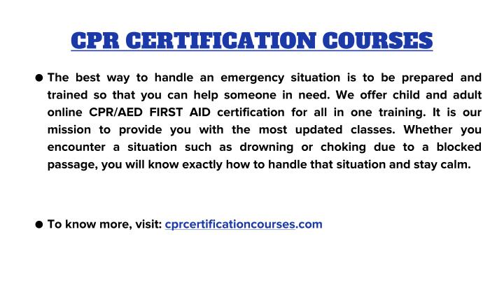 Cpr certification courses1
