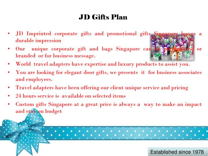 JD Gifts Plan