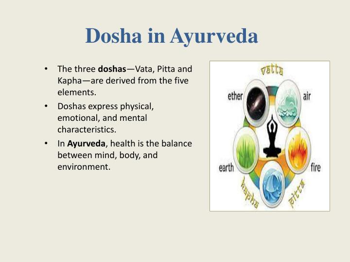 Dosha in ayurveda