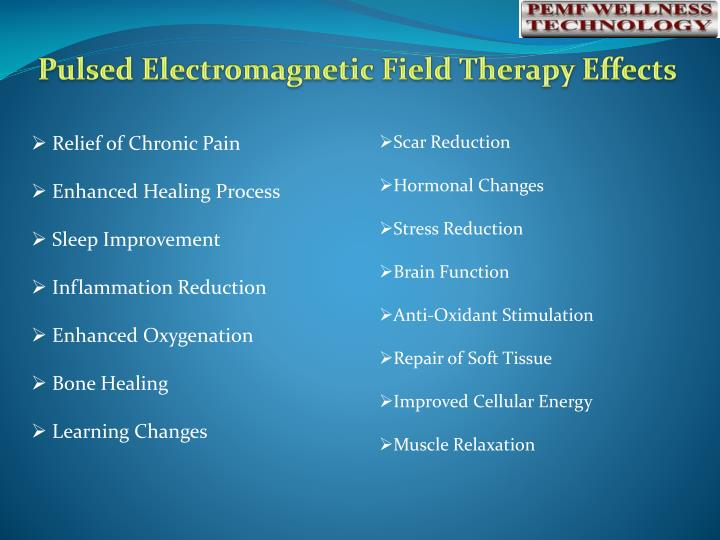 Pulsed Electromagnetic Field Therapy Effects