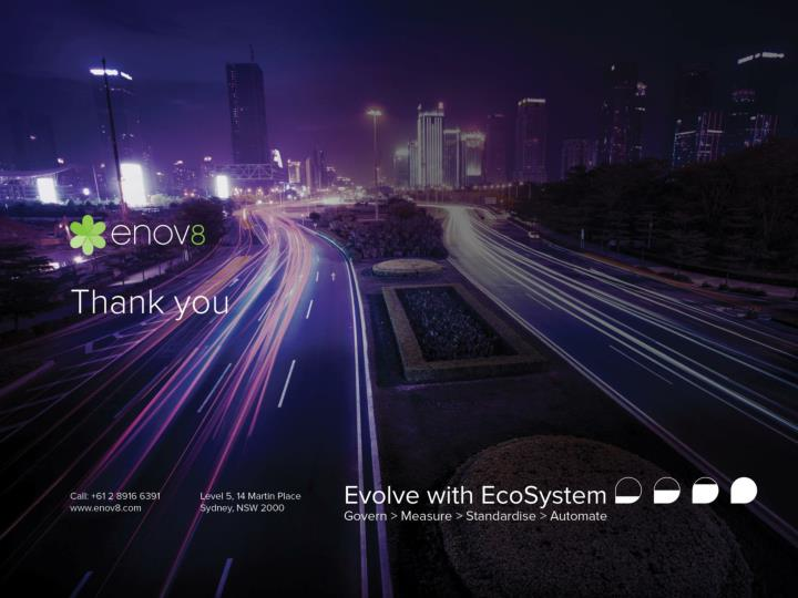 Evolve with EcoSystem