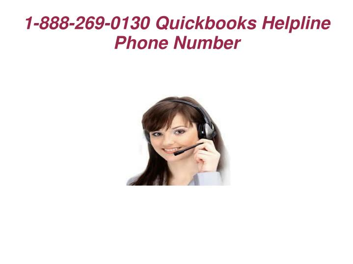 1-888-269-0130 Quickbooks Helpline Phone Number