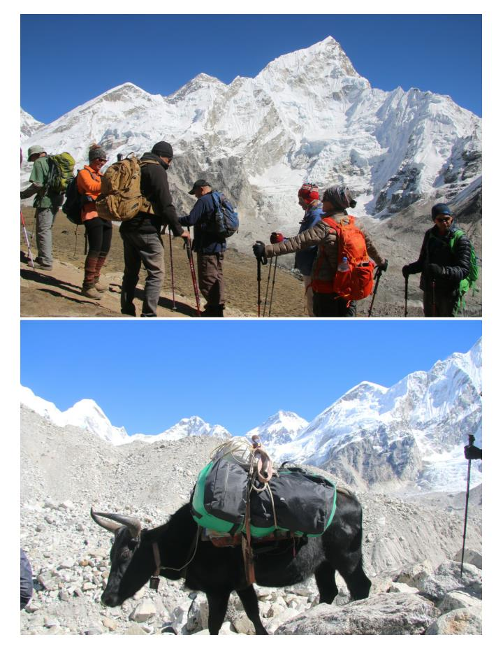 Everest base camp trekking 7438112