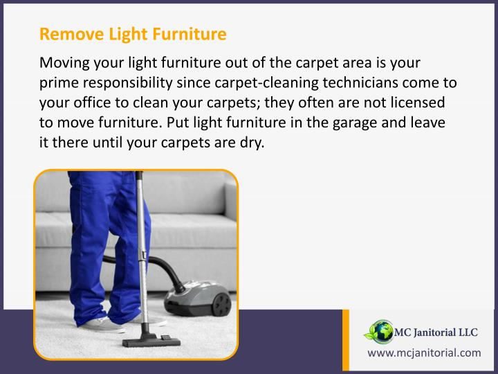Remove Light Furniture
