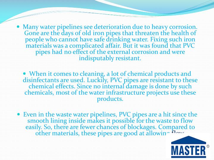 Many water pipelines see deterioration due to heavy corrosion. Gone are the days of old iron pipes t...