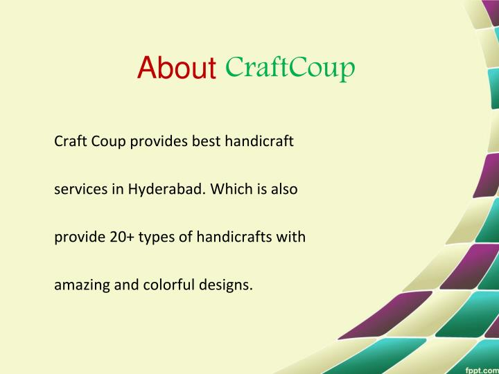 About craftcoup