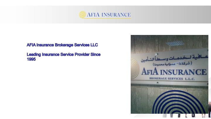 AFIA Insurance Brokerage Services LLC
