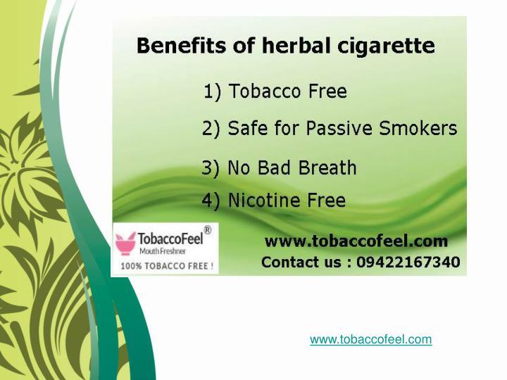 www.tobaccofeel.com