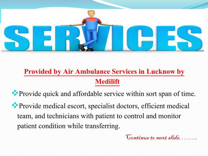 Provided by Air Ambulance Services in