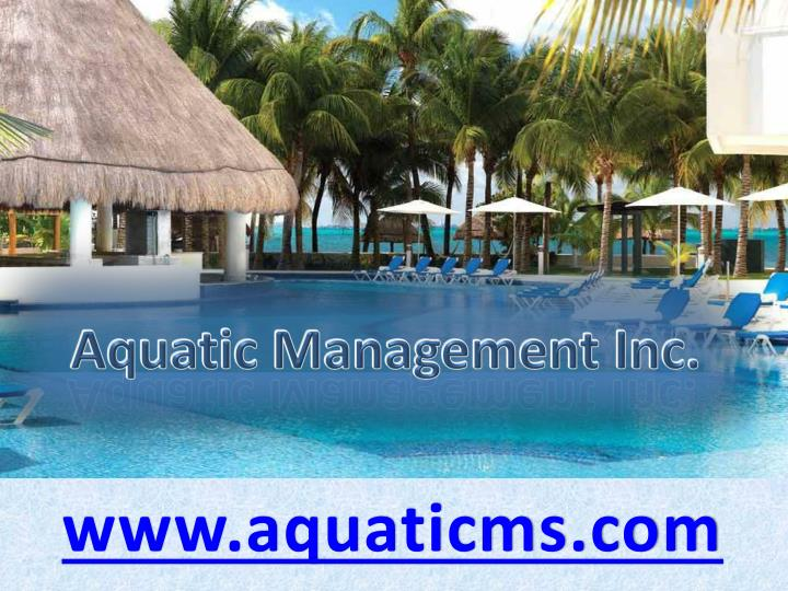 Aquatic management inc