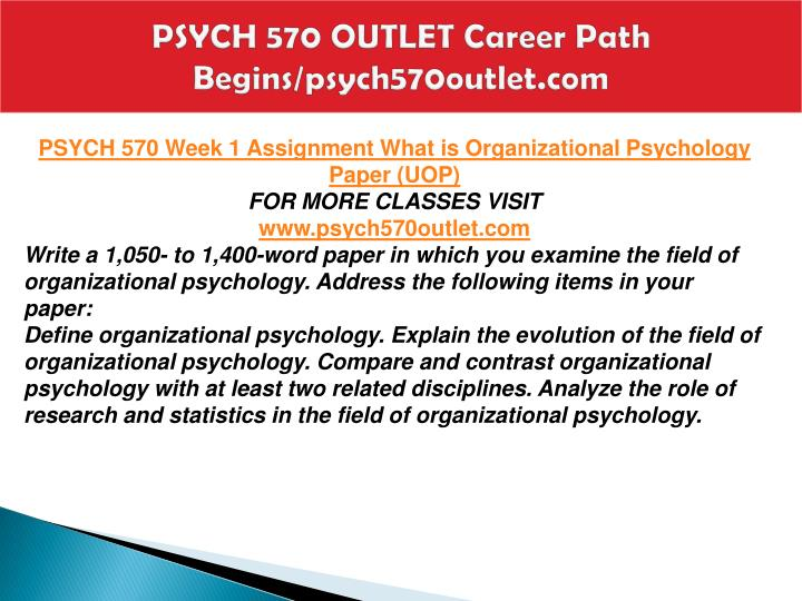 Psych 570 outlet career path begins psych570outlet com2