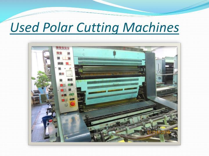 Used Polar Cutting Machines