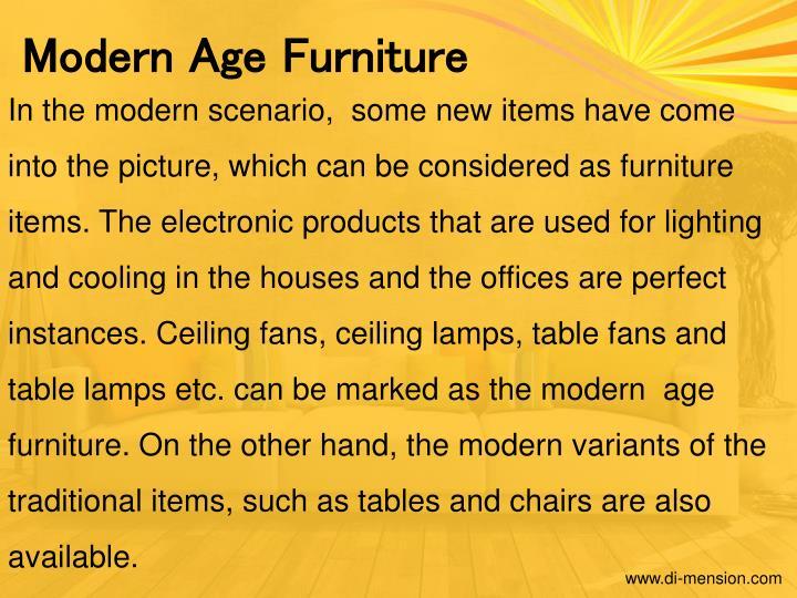 Modern Age Furniture