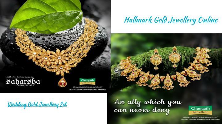 Hallmark Gold Jewellery Online