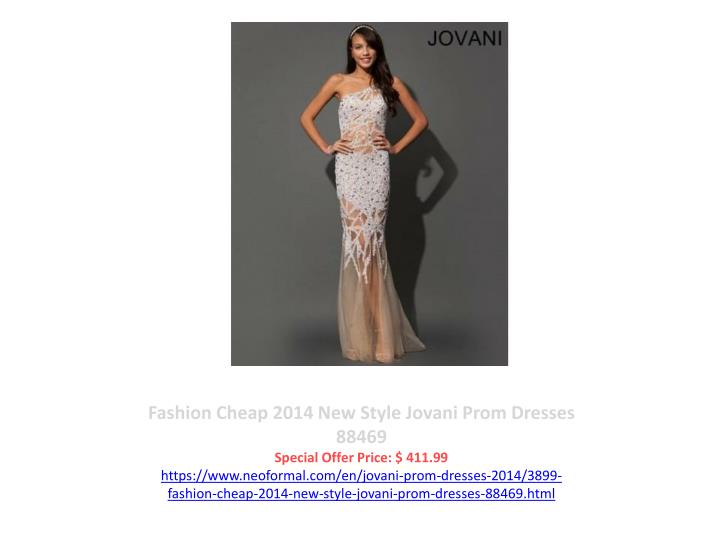 Fashion Cheap 2014 New Style Jovani Prom Dresses  88469