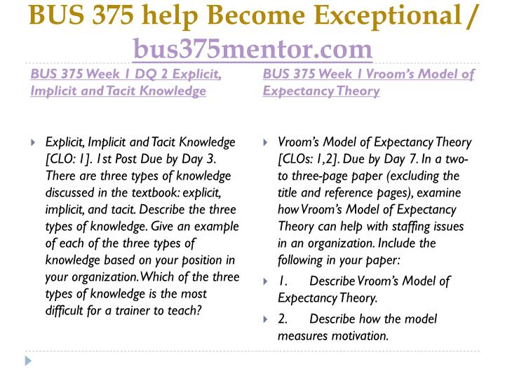 Bus 375 help become exceptional bus375mentor com2