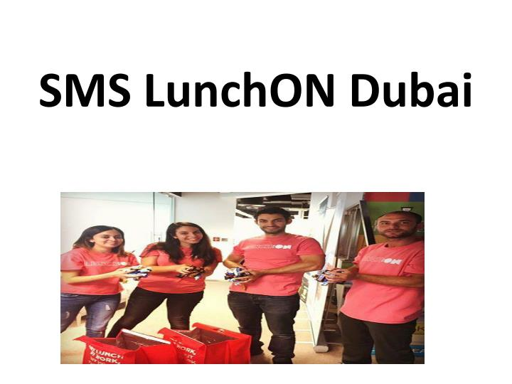 SMS LunchON