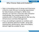 why choose data and analytics