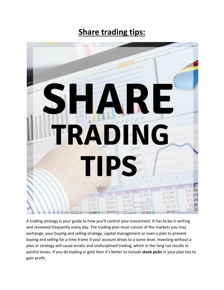 Share trading tips: