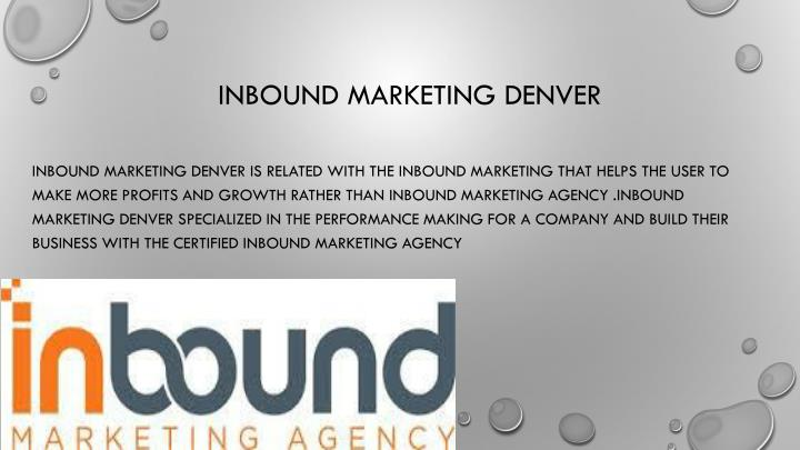 Inbound marketing denver