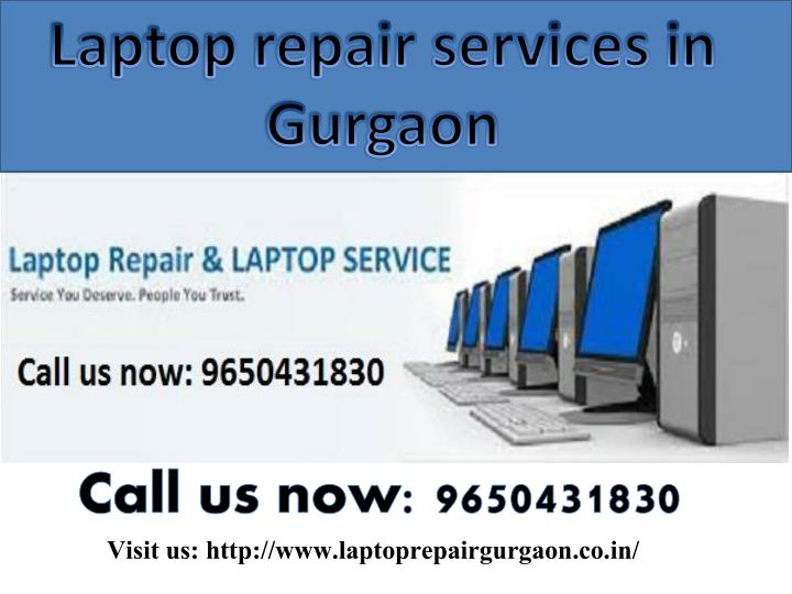 Laptop repair services in
