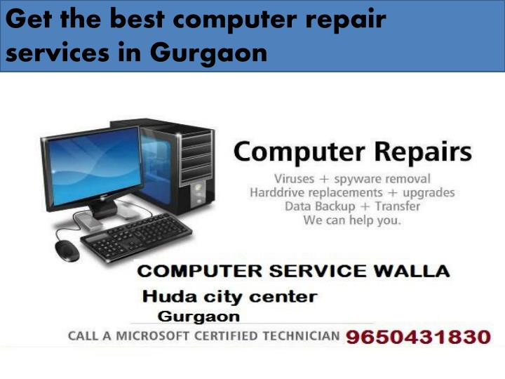 Get the best computer repair services in