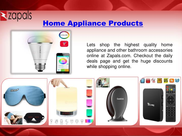 Home Appliance Products