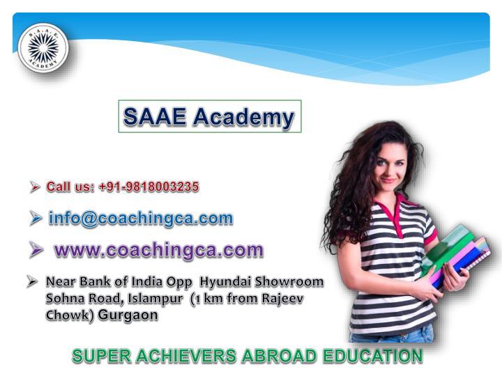 SAAE Academy