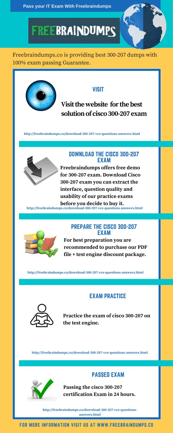 Pass your IT Exam With Freebraindumps