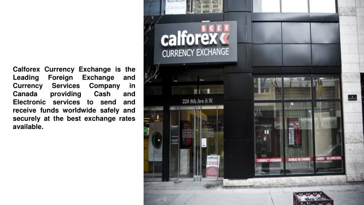 Calforex currency exchange-toronto