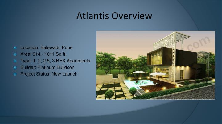 Atlantis overview