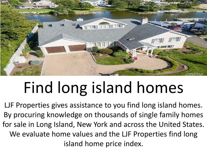 Find long island homes