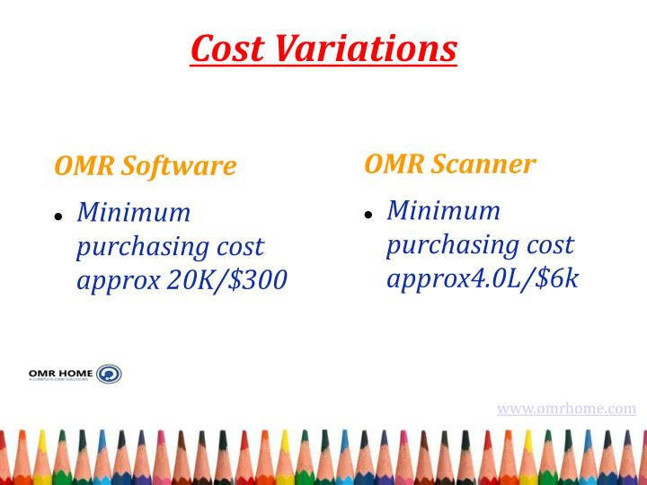 Cost Variations
