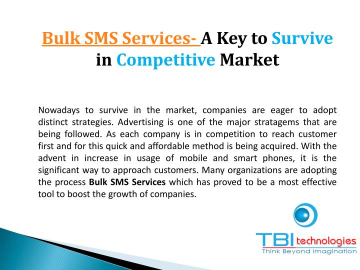 Bulk SMS Services-